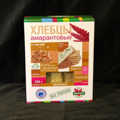 Хлебцы амарантовые с гречей