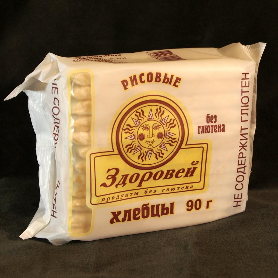 Хлебцы Здоровей рисовые