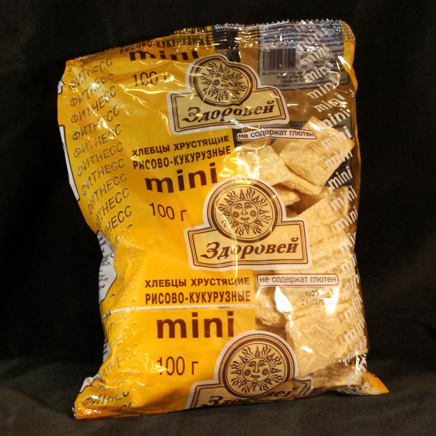 Хлебцы МИНИ кукурузно-рисовые