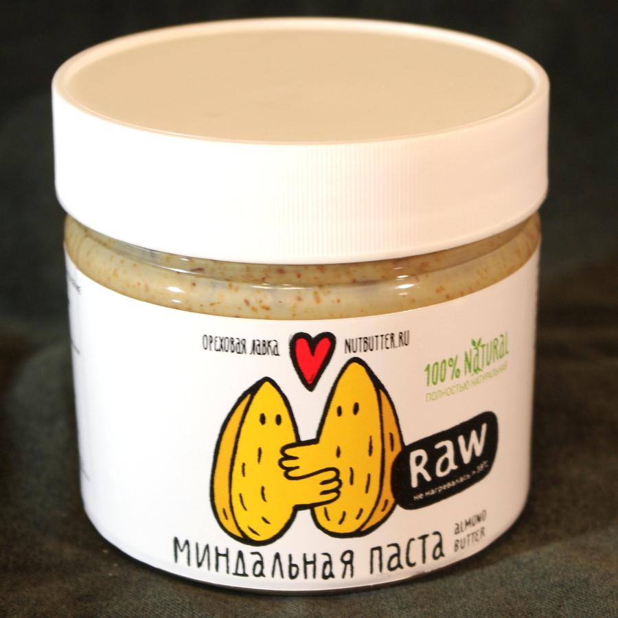 Миндальная паста (сырой миндаль)
