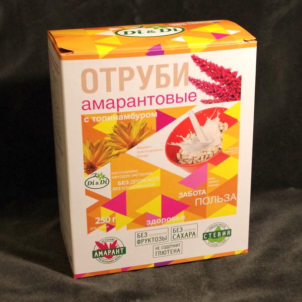 Отруби амарантовые с топинамбуром