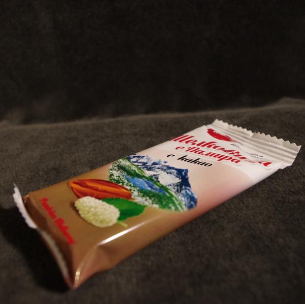 Батончик из шелковицы с шоколадом