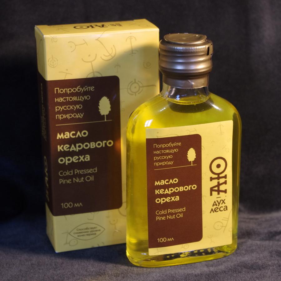 Кедровое масло 100мл.