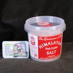 розовая гемалайская соль крупный помол