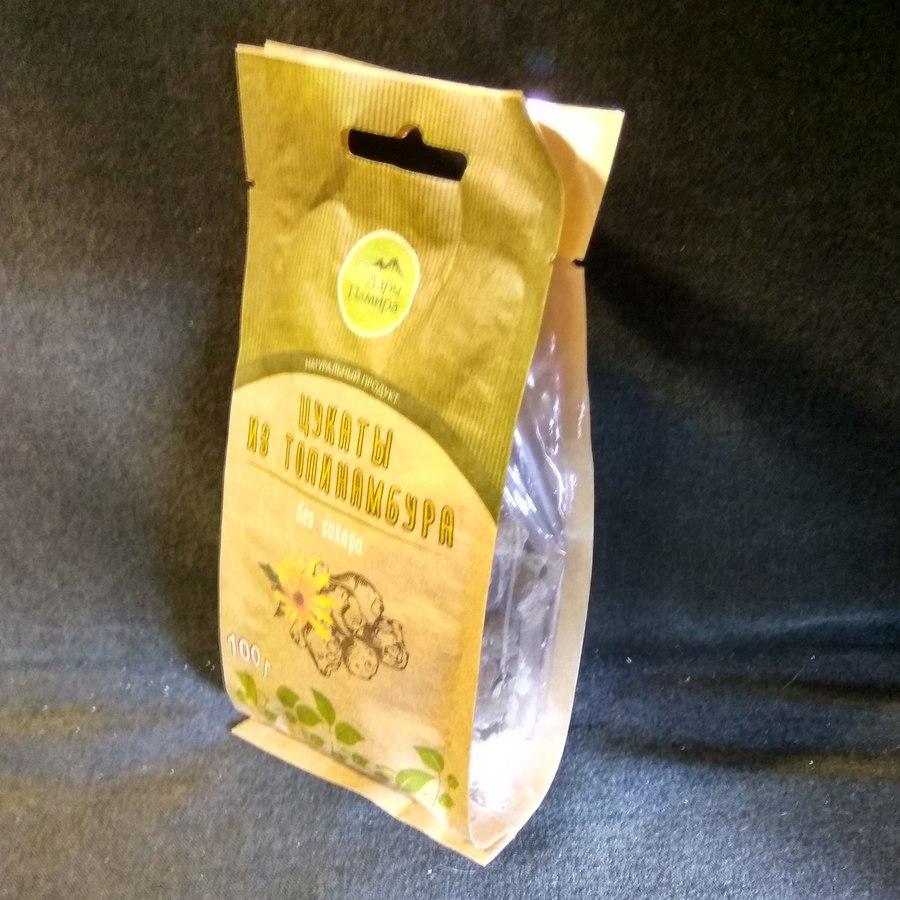 Цукаты из топинамбура без сахара