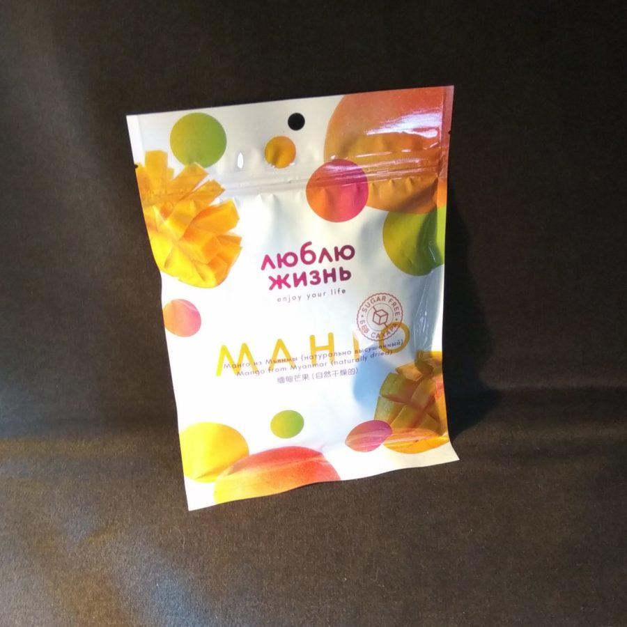 Сушёный манго без сахара