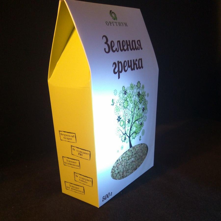 Оргтиум Зелёная греча 500 г.