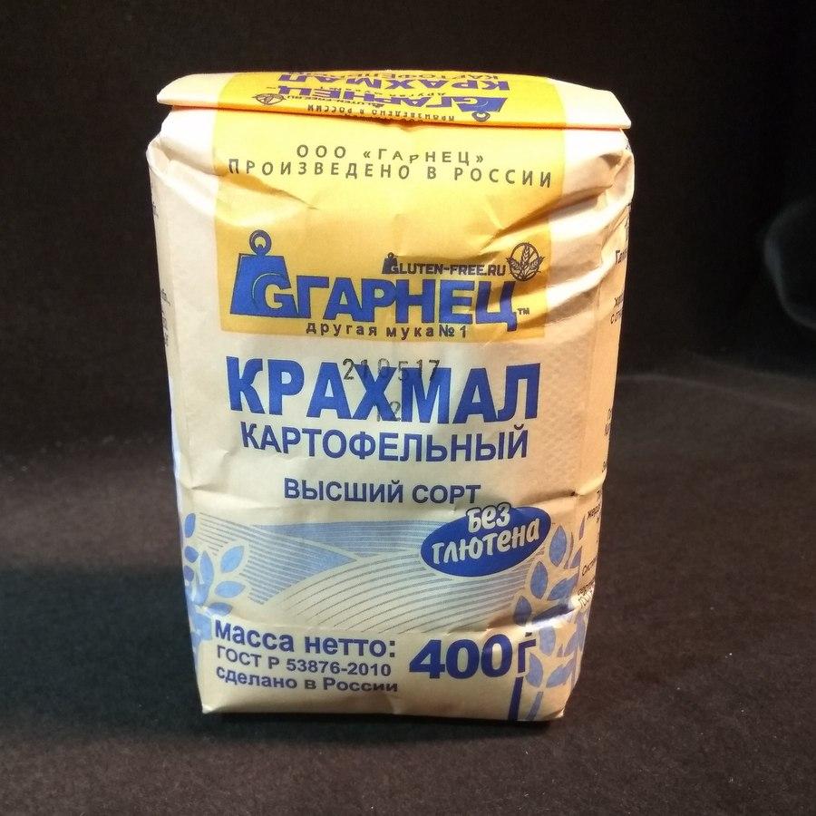 Гарнец Крахмал картофельный без глютена