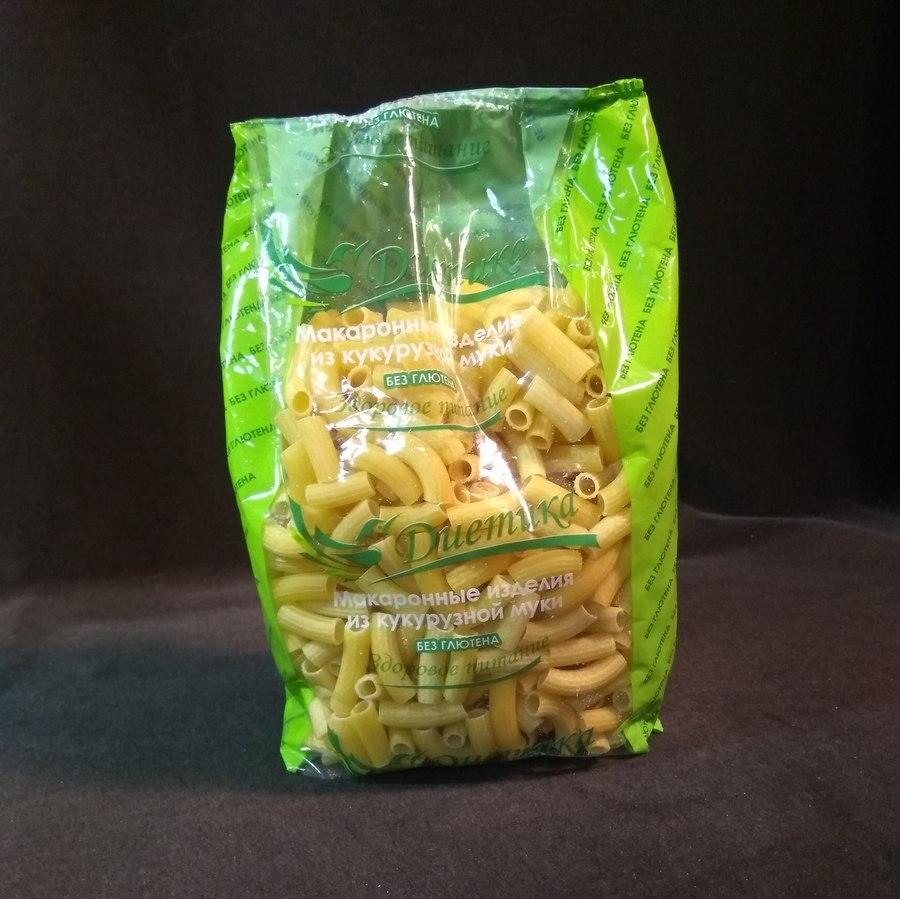 Кукурузные макароны Трубочки